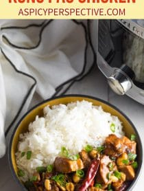 Best Instant Pot Kung Pao Chicken Recipe! #ASpicyPerspective #lowcarb #chinese #pressurecooker