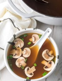 Japanese Clear Soup Recipe #ASpicyPerspective #hibachi #clearsoup #onionsoup