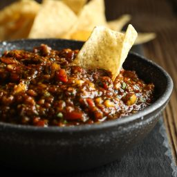 Salsa Al Pastor Recipe #ASpicyPerspective #whole30 #paleo #vegan #glutenfree