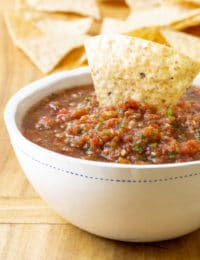 The Best Homemade Salsa Recipe (Quick, Healthy & Delicious!) #ASpicyPerspective #salsa #mexican #cincodemayo #fresh #homemade #best