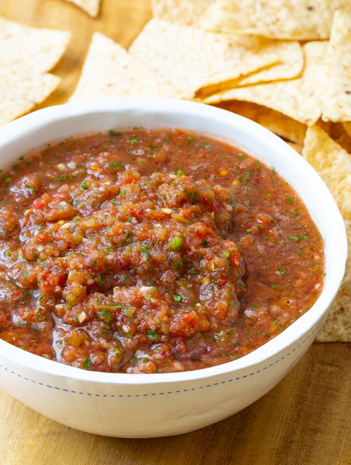 The Best Salsa Recipe (Quick, Healthy & Delicious!) #ASpicyPerspective #salsa #mexican #cincodemayo #fresh #homemade #best