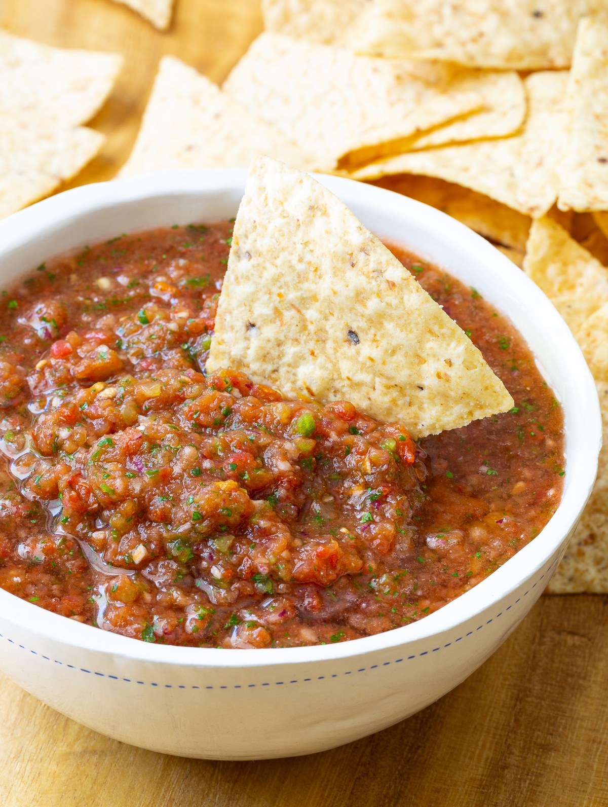 Spicy Salsa Recipe (Quick, Healthy & Delicious!) #ASpicyPerspective #salsa #mexican #cincodemayo #fresh #homemade #best