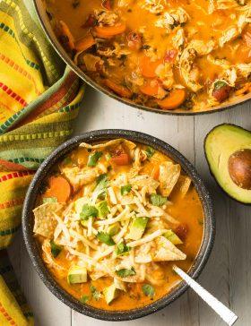 The Best Chicken Tortilla Soup Recipe