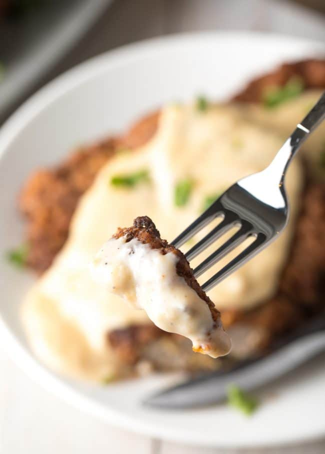 Easy Chicken Fried Steak Recipe #ASpicyPerspective