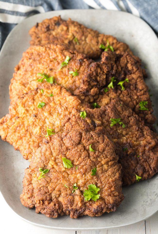 The Best Chicken Fried Steak Recipe #ASpicyPerspective