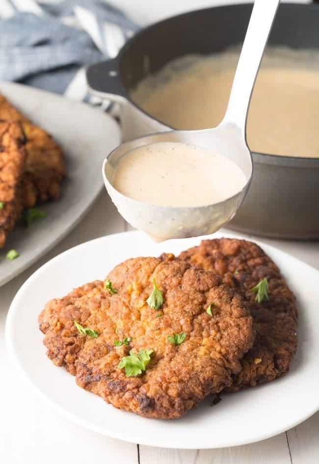 Perfect Chicken Fried Steak Recipe #ASpicyPerspective