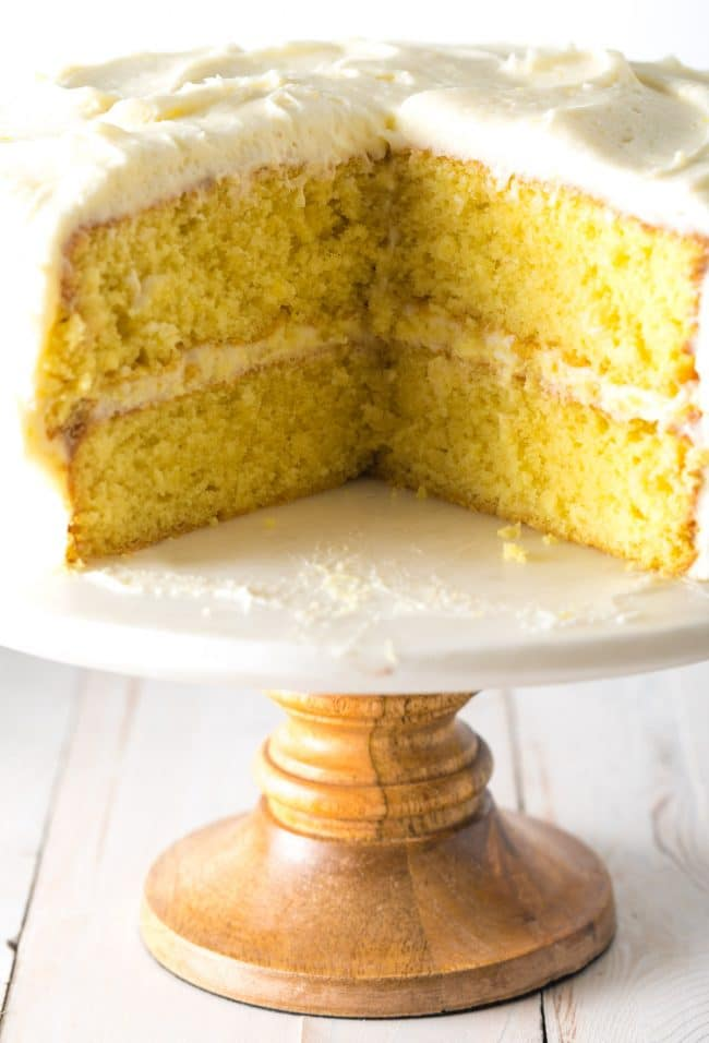 Our Best Lemon Buttermilk Cake Recipe #ASpicyPerspective #lemon #cake #easter