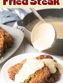 Best Chicken Fried Steak Recipe #ASpicyPerspective
