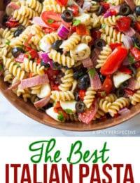 The Best Italian Pasta Salad Recipe