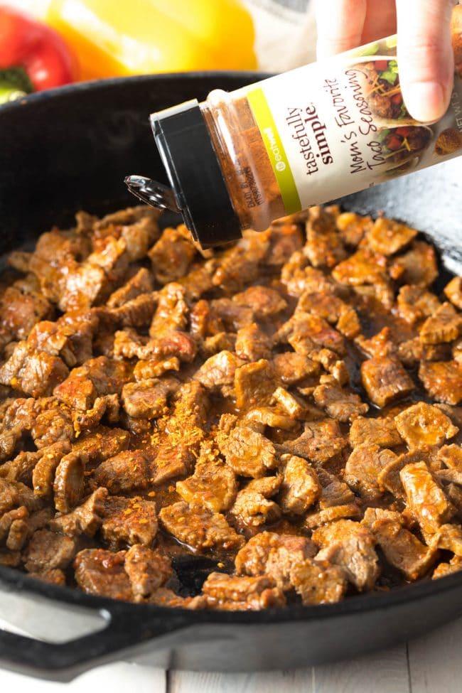 How To Make Steak Fajita Stuffed Avocado Recipe #ASpicyPerspective #lowcarb #keto #paleo