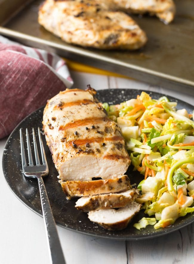 Best Magic Chicken Breast Recipe #ASpicyPerspective #chicken #grilled #baked
