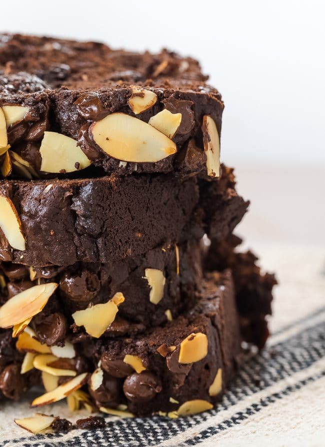 Best Chocolate Banana Bread Recipe #ASpicyPerspective #chocolate #banana #coconut #almond #hawaiian #coffee