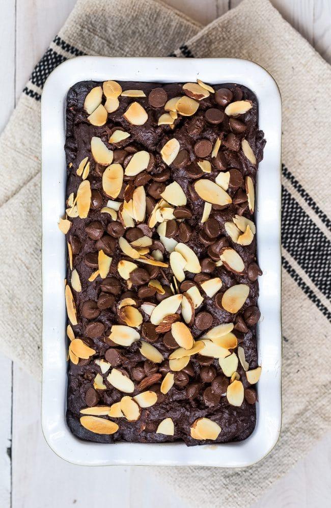 Easy Chocolate Banana Bread Recipe #ASpicyPerspective #chocolate #banana #coconut #almond #hawaiian #coffee