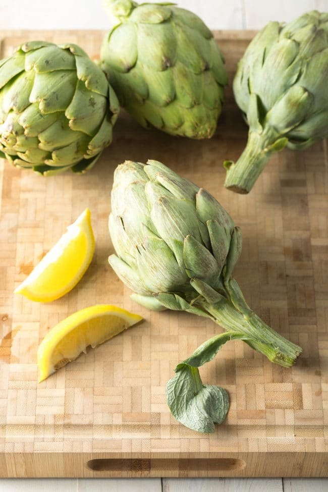 Making Grilled Artichokes with Miso Butter Recipe #ASpicyPerspective #lowcarb #howto #artichoke