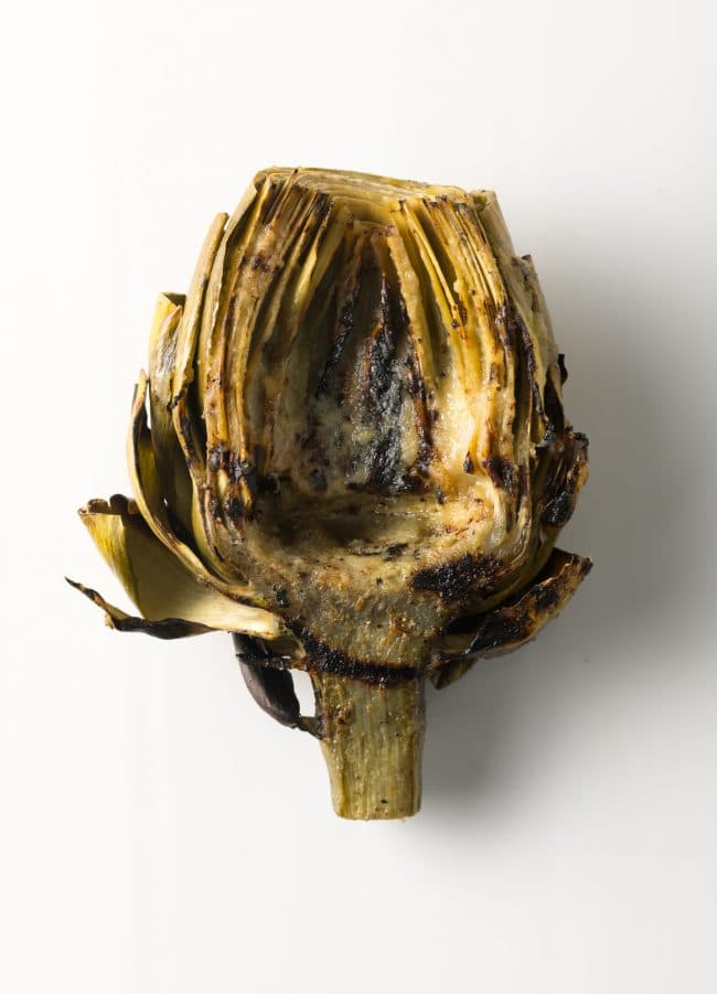 BEST Grilled Artichokes with Miso Butter Recipe #ASpicyPerspective #lowcarb #howto #artichoke