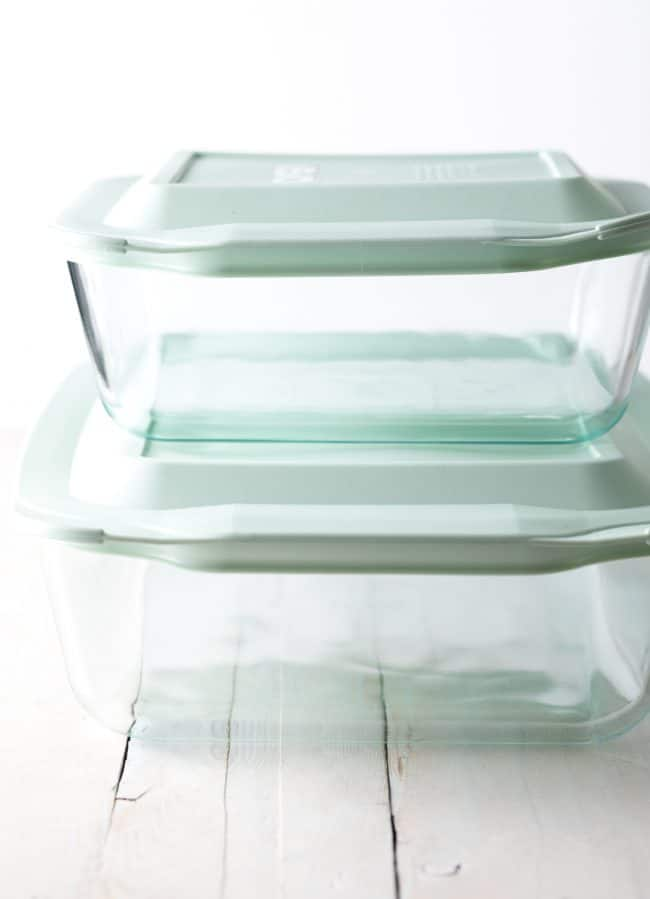 Pyrex Deep Dishes