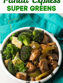 Easy Panda Express Super Greens (Copycat Recipe) #ASpicyPerspective #paleo #keto #glutenfree