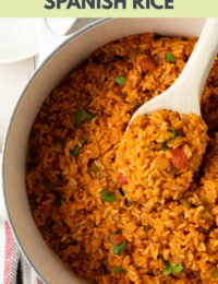 Best 4-Ingredient Spanish Rice Recipe (Mexican Rice - Arroz Rojo) #ASpicyPerspective #rice #mexican #spanish
