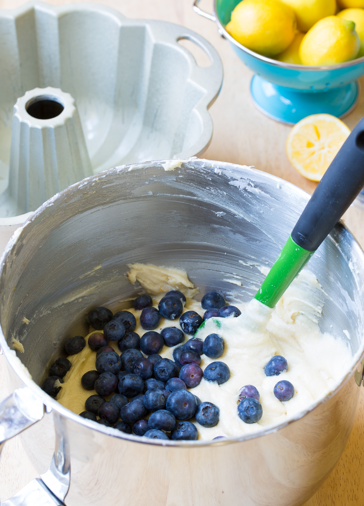 How To Make Blueberry Muffin Cake Recipe (Bundt)