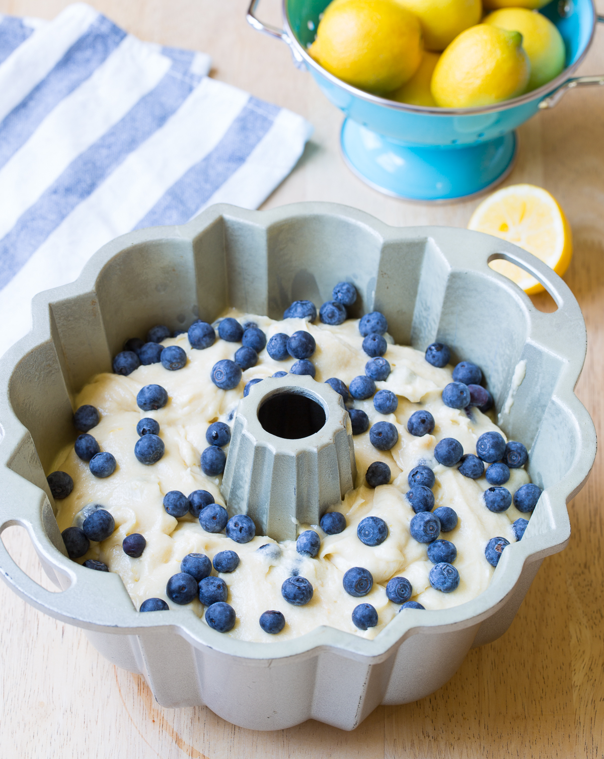 How To: Blueberry Bundt Cake Recipe