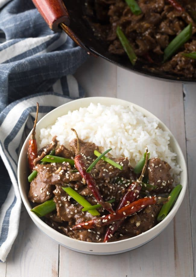 Szechuan Beef Recipe (Low Carb!) #ASpicyPerspective #lowcarb #beef #chinese #szechuan