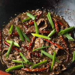 Easy Szechuan Beef Recipe (Low Carb!) #ASpicyPerspective #lowcarb #beef #chinese #szechuan