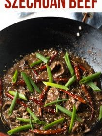 Perfect Easy Szechuan Beef Recipe (Low Carb!) #ASpicyPerspective #lowcarb #beef #chinese #szechuan