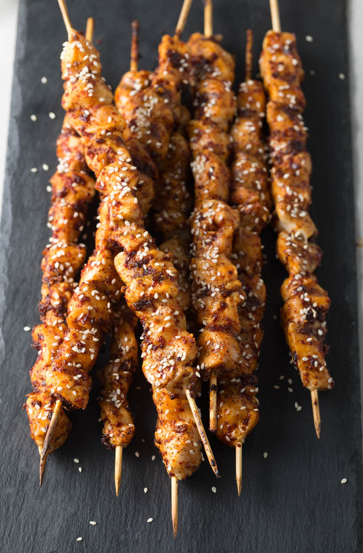 Korean Chicken Skewers Video A Spicy Perspective