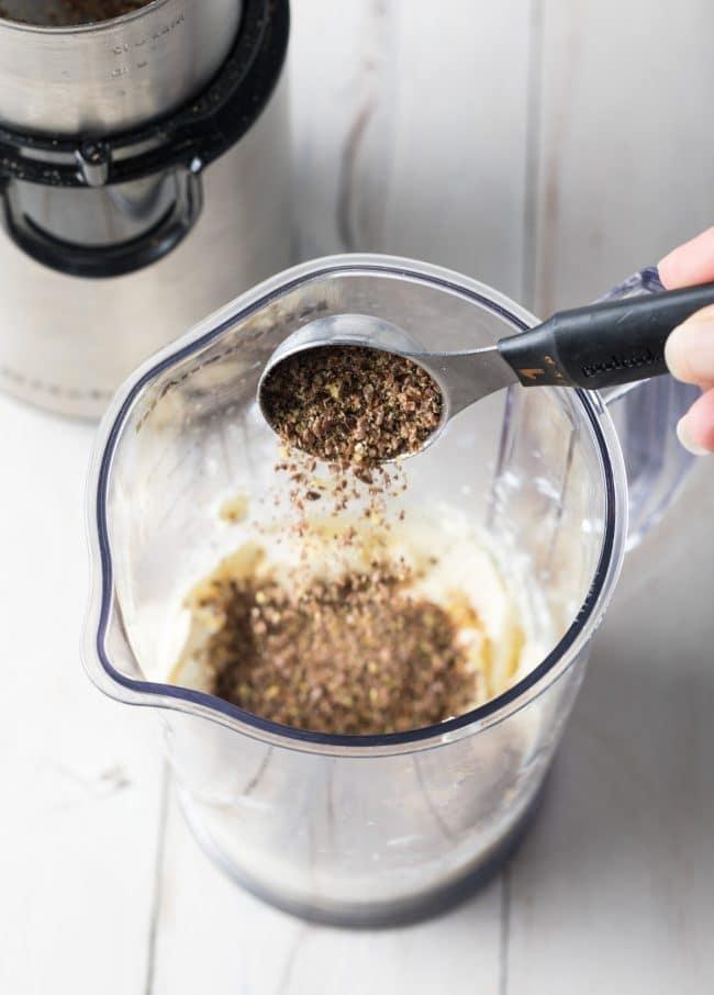 Making Budwig Protocol Recipe #cancer #naturalhealing