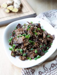 Korean Bulgogi Recipe #ASpicyPerspective #korean #bbq #beef #stirfry