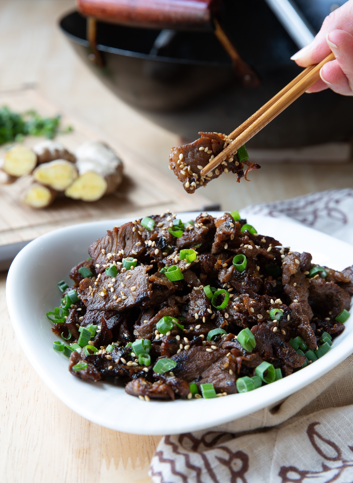 Best Bulgogi Recipe #ASpicyPerspective #KoreanBBQ #KoreanBBQRecipe #KoreanBeef #Bulgogi #BulgogiRecipe #Beef #BeefBulgogi #Dinner #Asian