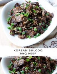 Korean Bulgogi Recipe #ASpicyPerspective #korean #bbq #beef #stirfry
