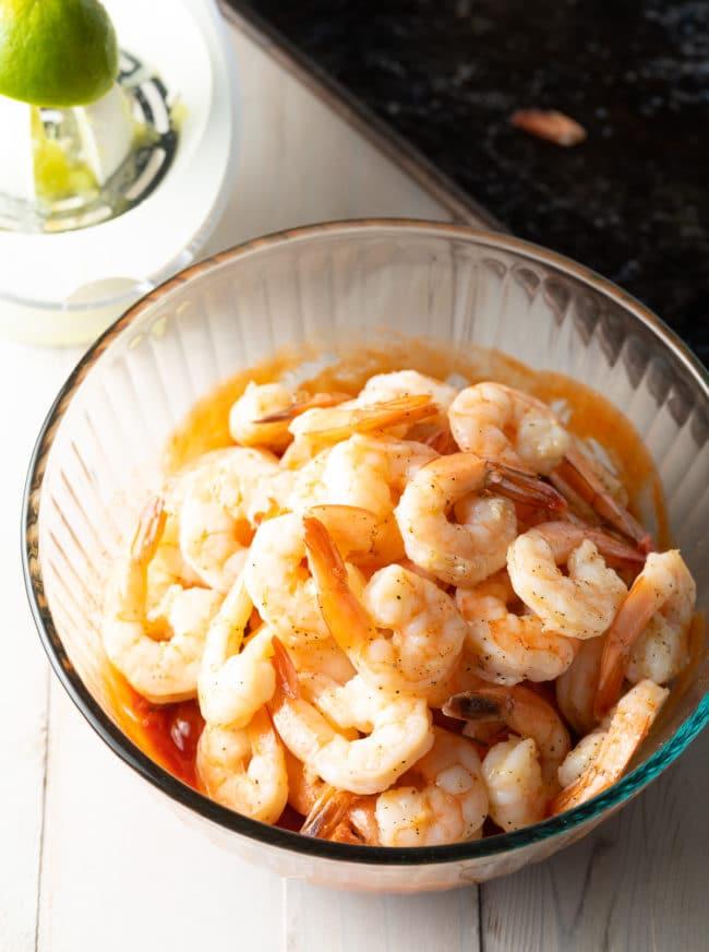 Best Shrimp Cocktail Recipe #ASpicyPerspective #lowcarb #shrimp #cocktailsauce #party #appetizer #michelada