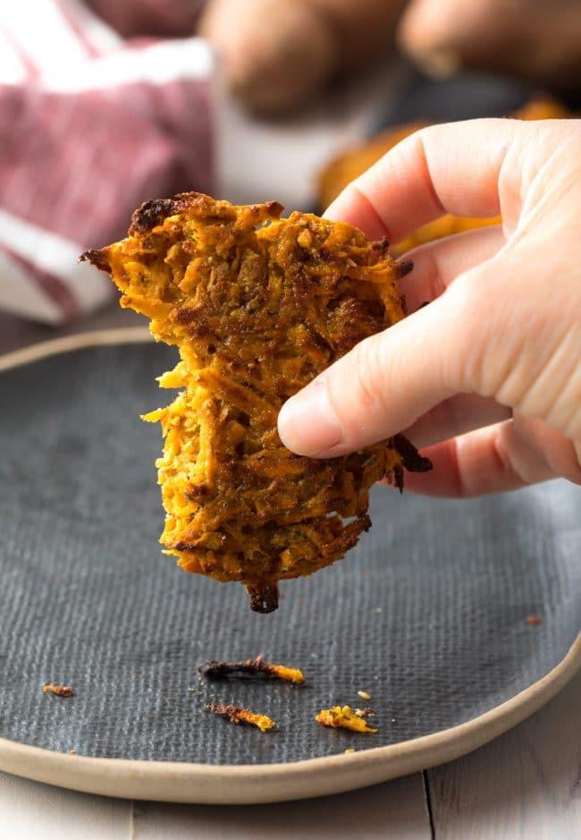 Best Paleo Hash Browns Recipe #ASpicyPerspective #paleo #whole30 #glutenfree