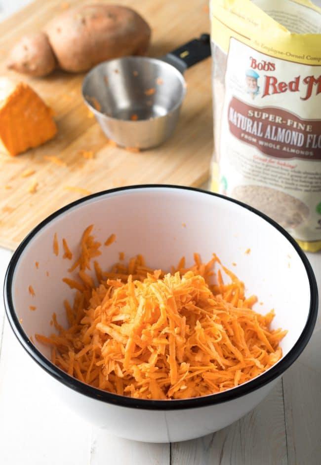 How To: Sweet Potato Hash Browns Recipe #ASpicyPerspective #paleo #whole30 #glutenfree