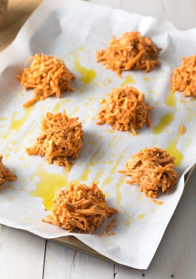 Paleo Hash Browns Recipe #ASpicyPerspective #paleo #whole30 #glutenfree