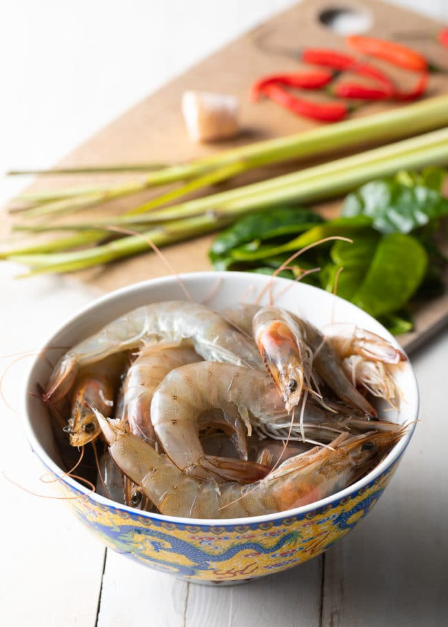 How To Make Tom Yum Soup Recipe #ASpicyPerspective #thai #healthy #lowcarb #shrimp