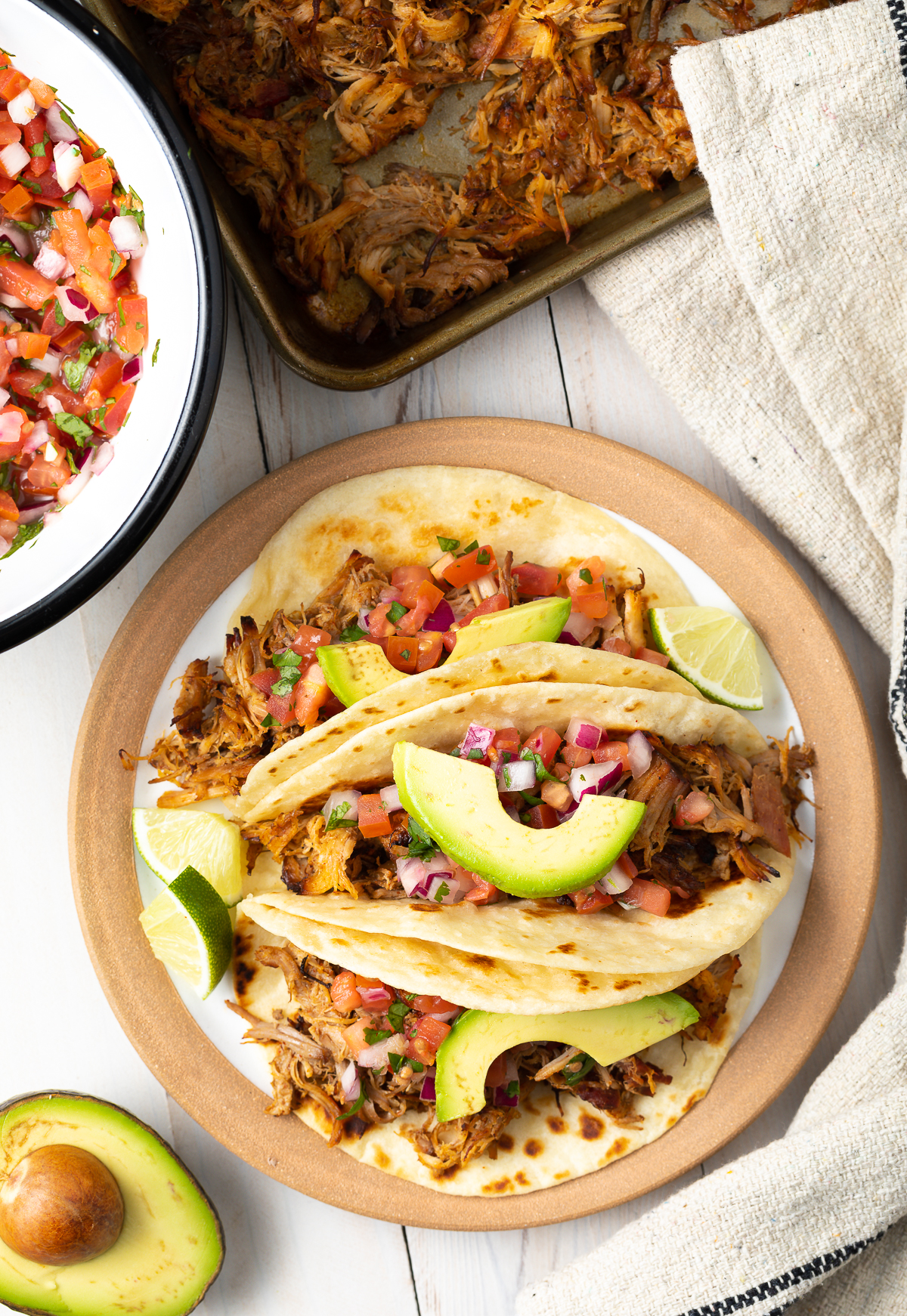Easy Slow Cooker Carnitas Recipe