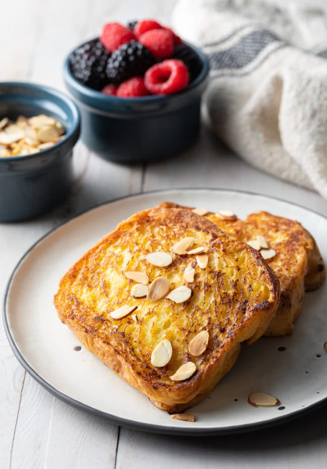 How To Make The BEST French Toast Recipe (Pain Perdu Recipe) #ASpicyPerspective #frenchtoast #painperdu #breakfast