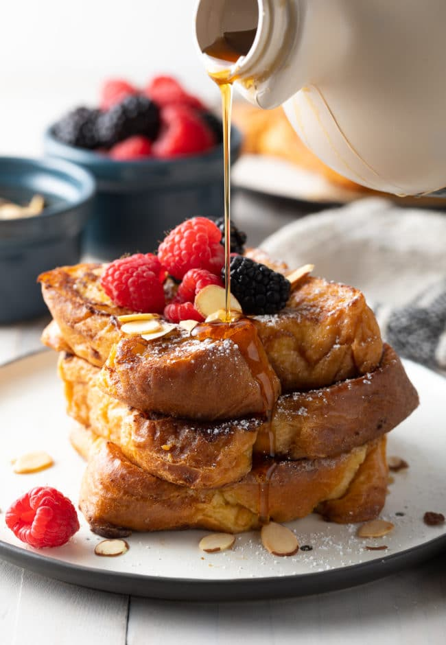 How To Make French Toast (Pain Perdu Recipe) #ASpicyPerspective #frenchtoast #painperdu #breakfast