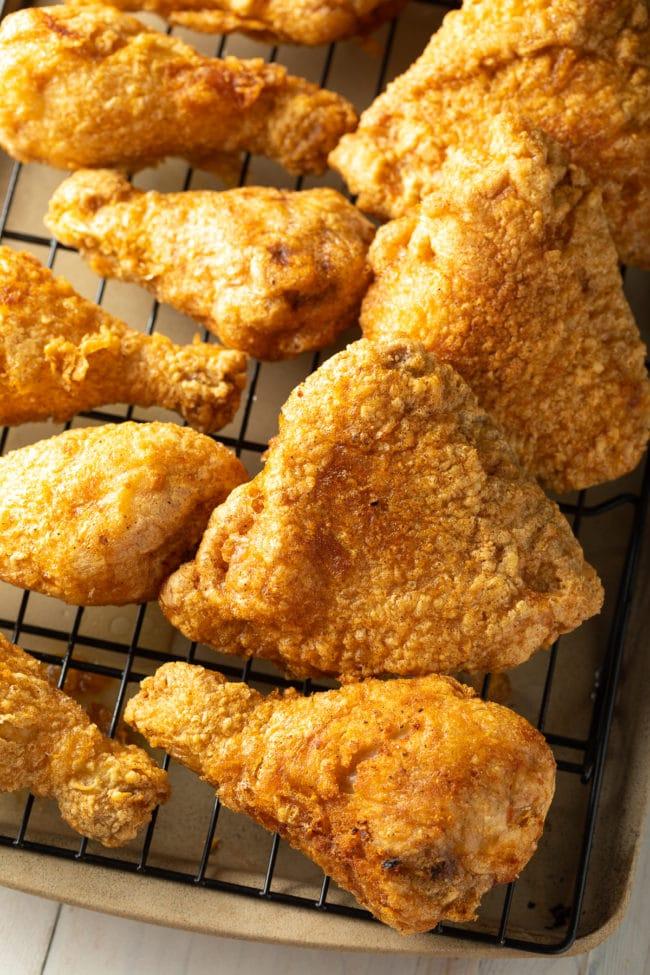 Pub Fried Chicken Recipe #ASpicyPerspective #chicken #friedchicken #tavern #pubgrub #pubfood #glutenfree