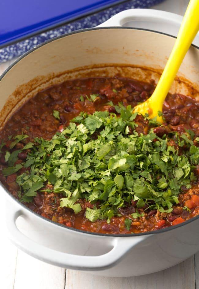 Making Cowboy Chili Lasagna Recipe #ASpicyPerspective #lasagna #cowboy #chili