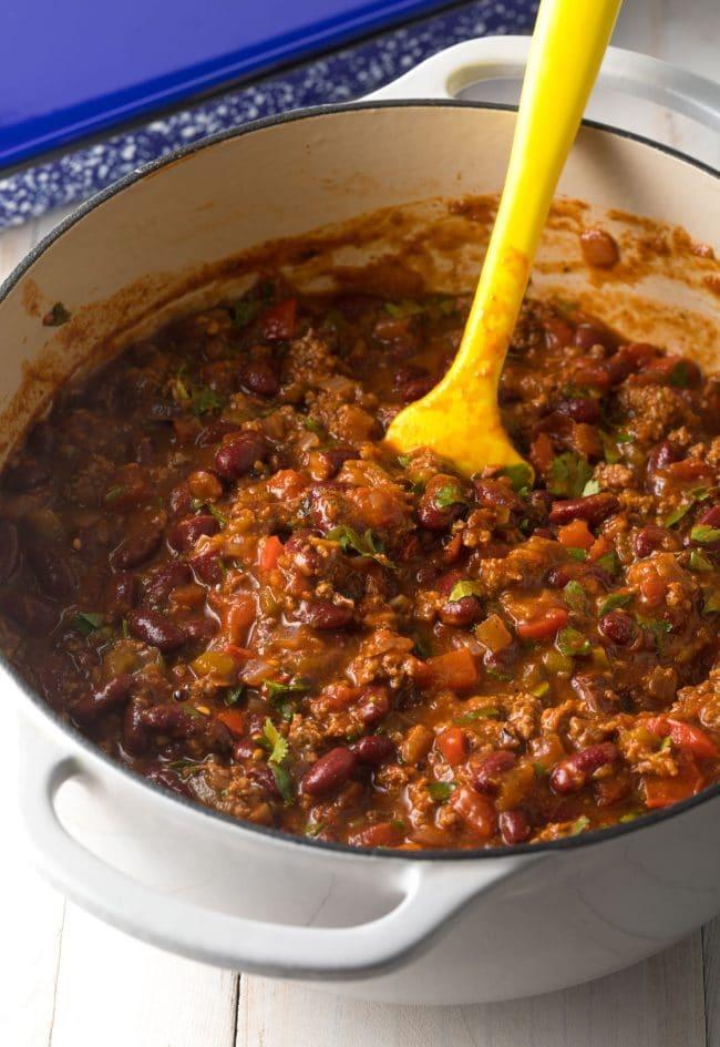 Cowboy Chili Recipe #ASpicyPerspective #lasagna #cowboy #chili