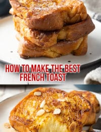 Best French Toast (Pain Perdu Recipe) #ASpicyPerspective #frenchtoast #painperdu #breakfast