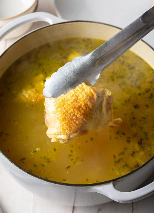 Homemade Chicken Noodle Recipe #ASpicyPerspective #Chicken #soup #chickensoup #noodle #best #comfortfood
