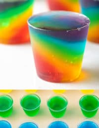How To Make Jello Shot Cups (Recipe) #ASpicyPerspective #jello #shots #jelloshots #vodka #rum #party