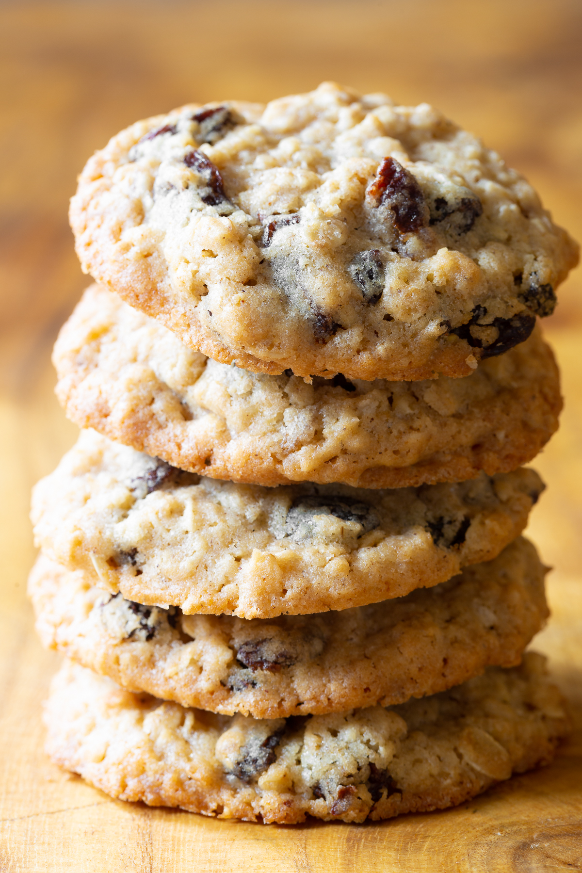 Wonderful stack of these oatmeal filled cookies