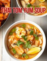 Best Tom Yum Goong Soup Recipe #ASpicyPerspective #thai #healthy #lowcarb #shrimp