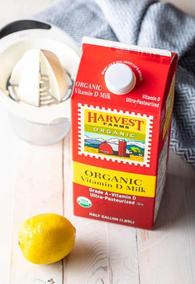 Make Buttermilk (Buttermilk Substitute Recipe) #ASpicyPerspective #howto #baking #substitutions #milk