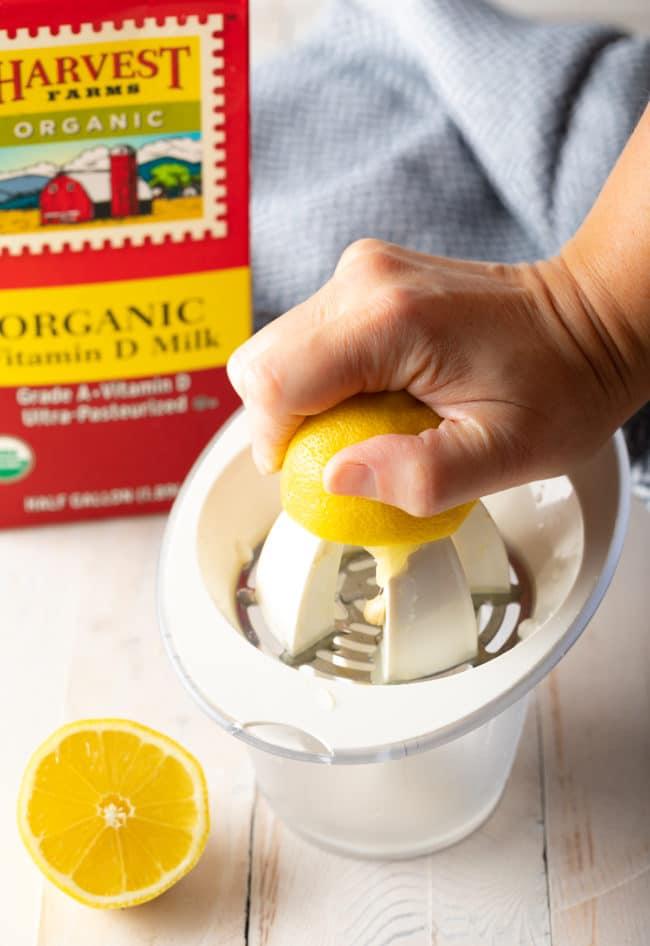 Homemade Buttermilk (Buttermilk Substitute Recipe) #ASpicyPerspective #howto #baking #substitutions #milk